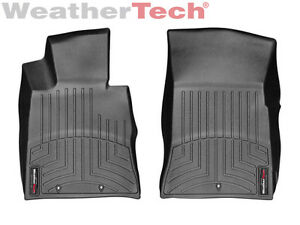 Weathertech Floorliner For Hyundai Genesis Coupe 2013 2016 1st Row Black