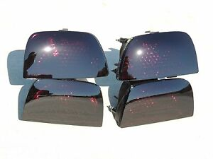 10 13 Camaro Smoked Tail Lights Oem Black Tinted Non Led Factory Custom