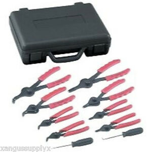 Professional Mechanics Otc Internal External Master Snap Ring Plier Kit Set