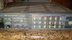 Tektronix 1910 Digitizing Tv Signal Generator Rs232 Parallel hpib