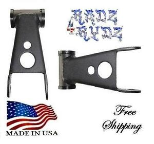 1983 2014 Ford Ranger Edge Mazda B 2wd 4wd 2 Lift Shackles Leveling Lift Kit
