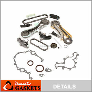 97 09 Ford Mercury Land Rover Mazda 4 0l Ohv Sohc Timing Chain Kit cover Gasket