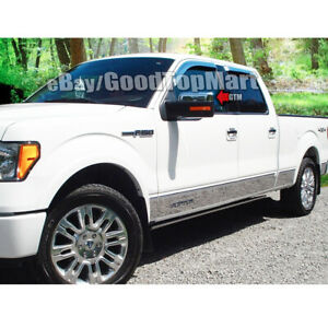 For 2009 2010 2011 2012 2013 2014 Ford F 150 F150 Chrome Top Half Mirror Covers