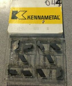 Kennametal Nb 2l K68 N Lathe Carbide 10 Inserts Metal Cutting Tools New