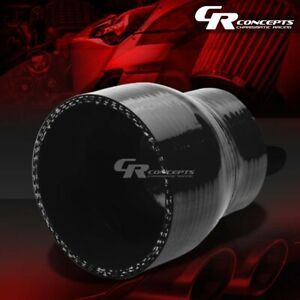 2 To 3 Reducer 4 Ply Black Silicone Hose Turbo Intake Intercooler Pipe Coupler
