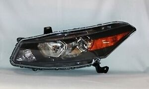 Left Side Replacement Headlight Assembly For 2008 2010 Honda Accord Coupe