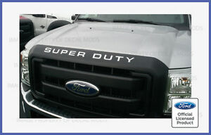 08 16 Super Duty Grille Insert Letters Decals F250 F350 F450 Grill Stickers