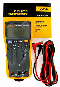 Fluke 115 Dmm Compact True Rms Digital Multimeter