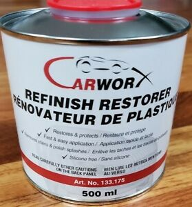 Refinish Restorer 4x More And Beats Wipe New Meguiars Mother s Black Plastic