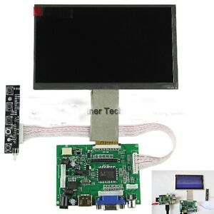 7 Tft Lcd Display Module Rgb Hdmi vga 2av Driver Board For Raspberry Pi 12v Car