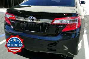 2012 2014 Toyota Camry Stainless Steel Rear Gate Accent Molding Trim Logo Trunk