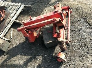 New Idea Uniharvester Cornpicker Wide Front End Item 78