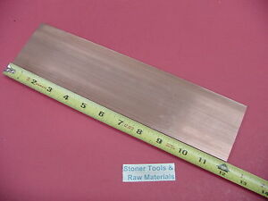 1 4 x 3 C110 Copper Bar 12 Long Solid Flat Bar 250 x 3 00 Bus Bar Stock H04