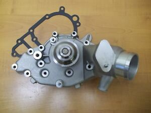 Water Pump New With Metal Pulley Porsche 944 944s 924s 924s 1 Year Warranty 944