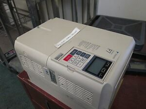 Yaskawa P7 Ac Drive Cimr p7u4015 25hp 3ph In 380 480v 40a Out 0 480v 34a Used