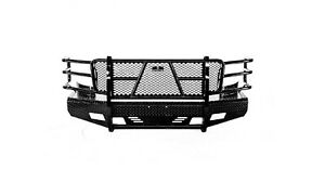 Ranch Hand Fsc081bl1 Summit Series Front Bumper Replacement For Silver