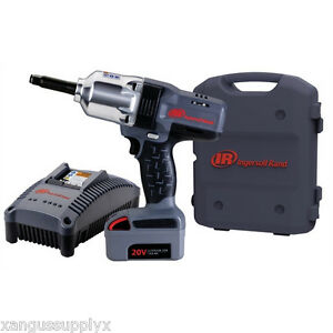 Ingersoll Rand 1 2 Impact Wrench Extended Anvil Charger One Battery W7250 k1