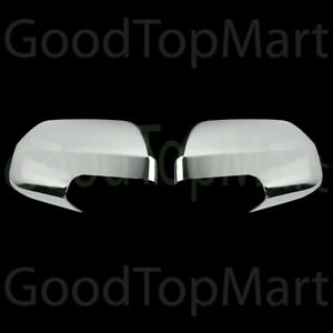 For Ford Escape 2008 2009 2010 2011 2012 Chrome Full Mirror Covers Pair Mirrors