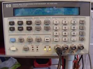 Agilent hp V8904a Opt 001 002 Multifunc synthesizer good Working Calibrated