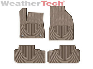 Weathertech All weather Floor Mats For Toyota Highlander 2014 2015 Tan