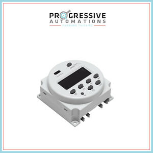 Digital Programmable Timer Switch 12vdc 16a For Progressive Automations