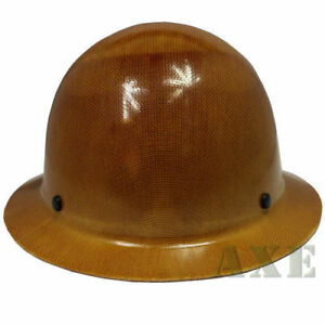 Msa Safety Work 475407 Skullgard Hard Hat W Fast trac Suspension Natural Tan