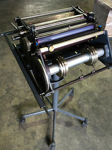 Heidelberg Numbering Perforating Unit For Printmaster Quickmaster Qm 46 Press