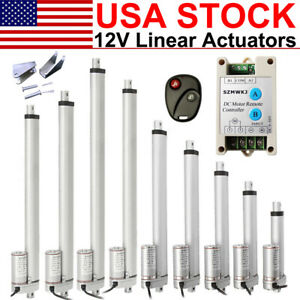 1500n Linear Actuator 12v Dc 330lbs Electric Motor For Auto Car Sofa Medical Use