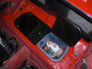 Quicklift Hinged Battery Lid For Mgb Mgc Mgbgt Battery Cover Panel Dzus