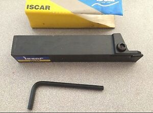 Iscar Ghgl 25 4 4 Indexable Turning Grooving Cut Off Self Grip Tool Holder New