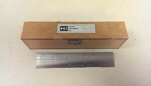 Hacker Instruments Inc 180mm Microtome Knife Profile C H i Made In Germany 657