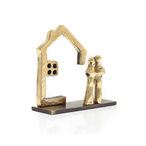 Business Card Holder Handmade Of Solid Brass Metal house Design