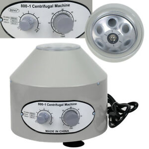 Electric Centrifuge Machine Lab Medical Practice 110v 800 1 4000 Rpm Lower speed