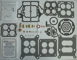 1955 57 Carb Kit Carter Wcfb Corvette Chevy 2218s 2351s 2505s 2555s 2655s