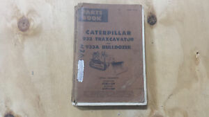 Caterpillar 933 And 933a Parts Book