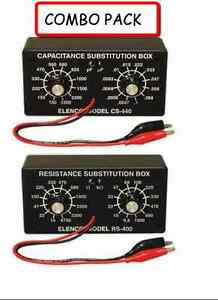 Elenco K 37 k 38 Resistor Capacitor Substitution Box solder Kit Combo Pack