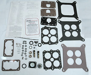 1965 78 Carb Kit 4 Barrel Holley Ford Truck 361 389 401 475 477