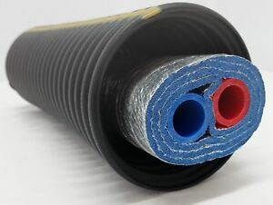 250 Feet Of Commercial Grade Ez Lay Triple Wrap Insulated 3 4 Nb Pex Tubing