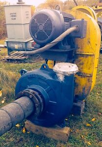 Krebs Vertical Millmax Slurry Pump Model Mm200 B42u With 100 Hp Motor 8x6x20