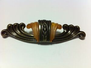 Waterfall Bakelite Die Cast Drawer Pull For Furniture From 1930 S Wf 101