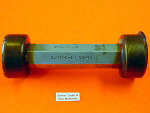 1 97 18 Ns 3b Thread Plug Gage 1 9700 18 Go 1 9339 Pd Nogo 1 9389 Pd Usa