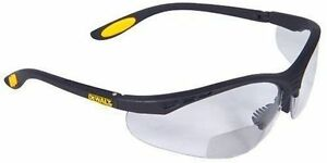 Dewalt Dpg59 115d Safety Glasses Reinforcer Rx Bifocal Clear Lens 12 box