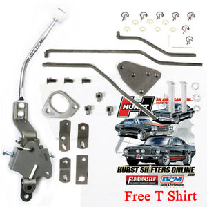 Hurst 4 Speed Round Bar Handle Shifter Kit 1969 Camaro W Console Ss Z 28 302 396