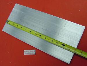 1 4 X 6 Aluminum 6061 Flat Bar 14 Long T6511 Solid Extruded Plate Mill Stock