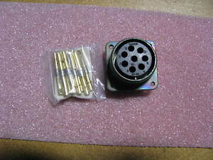 Bendix Connector W contacts 10 214222 23s Nsn 5935 00 133 1565