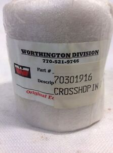 Worthington Compression Division Crosshead Pin Bushing 70301916