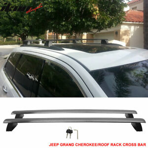 Fits 11 18 Jeep Grand Cherokee Oe Factory Style Roof Rack Cross Bar W Key Lock