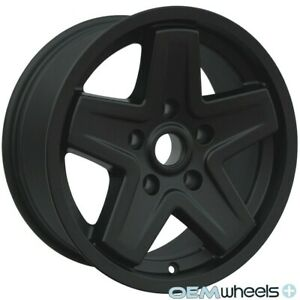 Fits Jeep Commander 5x127 Star Style Rims Wheels 16 Set Of 4 New Matte Black
