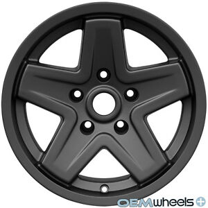 Fits Jeep Grand Cherokee 5 Star Style Rims Wheels 5x127 16 Set Of 4 New