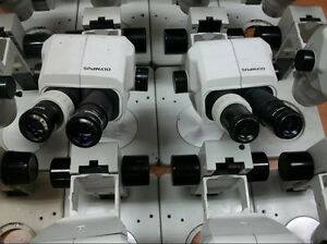 Olympus Sz40 Sz4045 Microscope W video Port Led Light